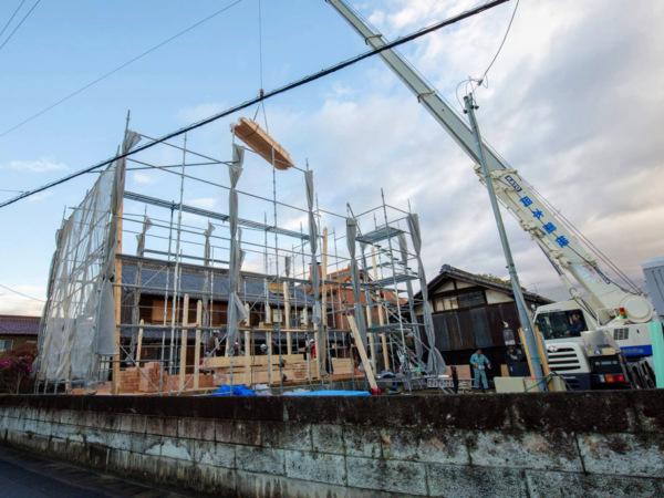 近藤建築・Kホーム 岐南町 M様邸  上棟完了 イメージ
