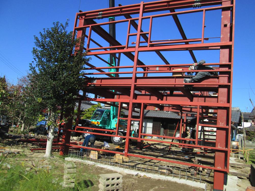 近藤建築・Kホーム 倉庫施工 施工事例イメージ3