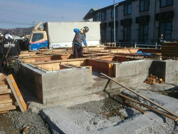 近藤建築・Kホーム 基礎 コンクリート脱型工事 イメージ