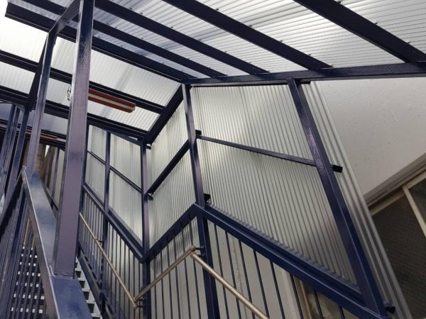 近藤建築・Kホーム 外階段改修工事 イメージ
