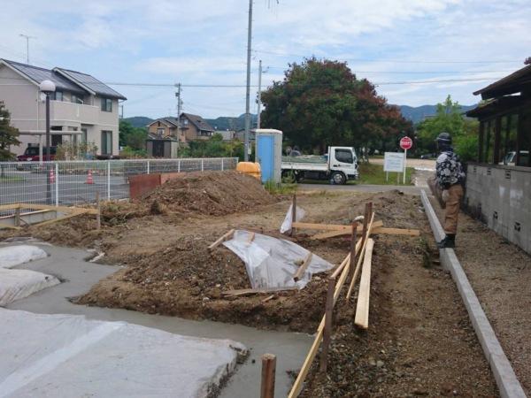 岐南町 近藤建築・Kホーム 基礎工事 ステコン打設 イメージ