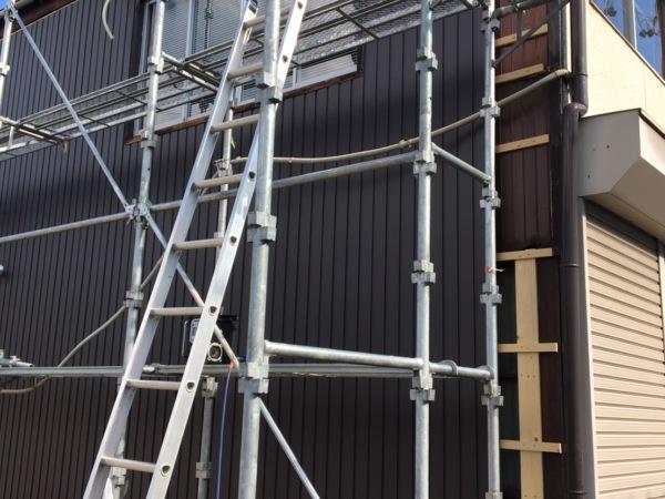 岐南町 近藤建築・Kホーム 外壁板金工事 イメージ