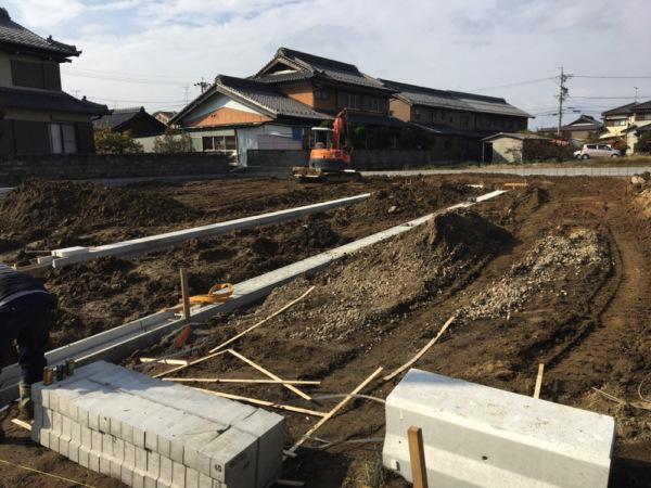 近藤建築・Kホーム 岐南町 造成工事 イメージ