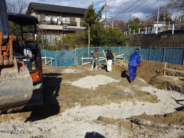 近藤建築・Kホーム 東海市 基礎工事 イメージ