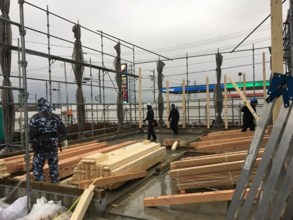 近藤建築・Kホーム 大野町 店舗工事 イメージ