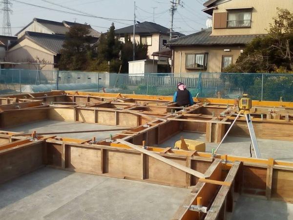 近藤建築・Kホーム 稲沢市 型枠工事 イメージ