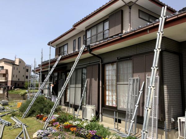 近藤建築・Kホーム 稲沢市 外壁塗装工事 イメージ
