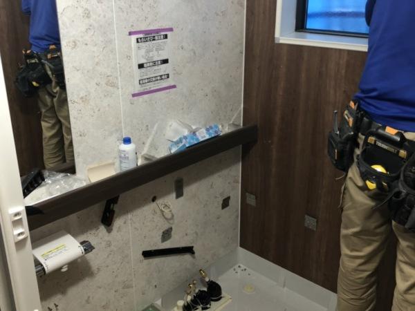 近藤建築・Kホーム 岐南町 新築I様邸 ユニットバス設置工事 イメージ