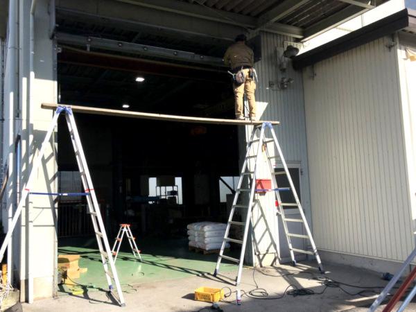 近藤建築・Kホーム 岐南町 工場修繕工事 イメージ