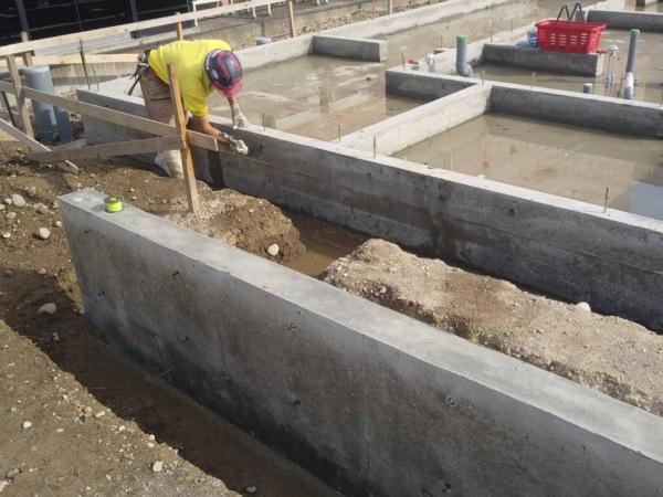 近藤建築・Kホーム 岐南町 木造基礎脱型工事 イメージ