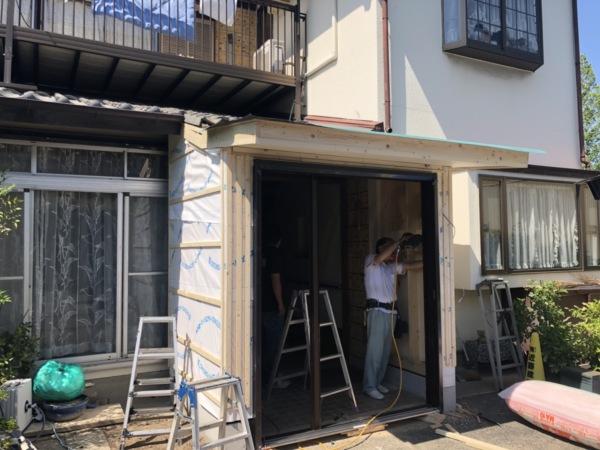 近藤建築・Kホーム 岐南町F様邸 玄関改修工事 イメージ