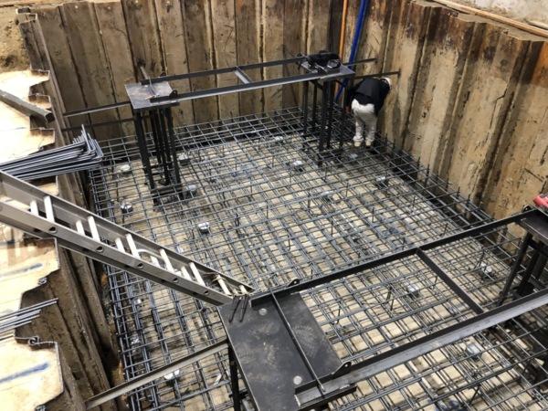 近藤建築・Kホーム 岐南町 K企業様 機械基礎工事 イメージ