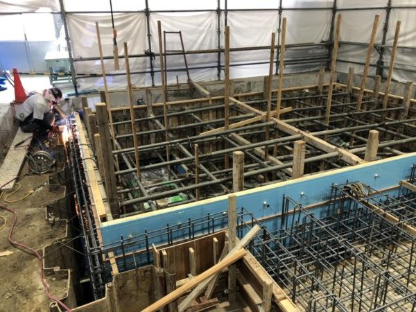 近藤建築・Kホーム 岐南町 K企業様 型枠工事 イメージ