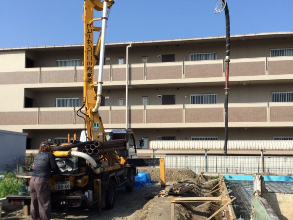 近藤建築・Kホーム 一宮市 基礎工事 イメージ