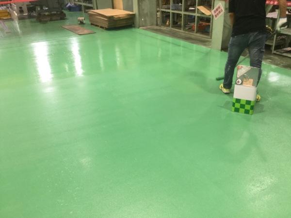 近藤建築・Kホーム 岐南町 K企業様 床塗装工事 イメージ