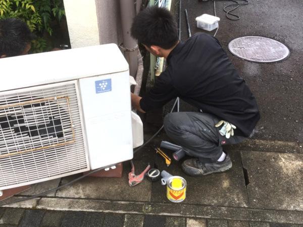 近藤建築・Kホーム 岐阜市M様邸 水道配管工事 イメージ