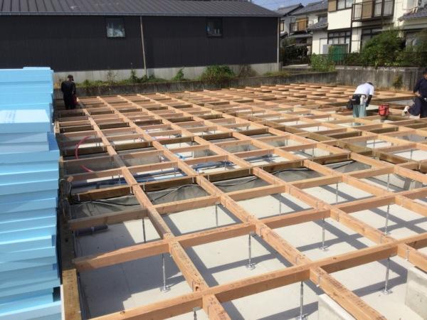 近藤建築・Kホーム 北方町 木造新築工事 イメージ