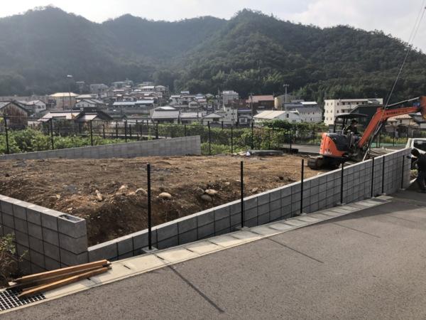 近藤建築・Kホーム 岐阜市日野 造成工事 イメージ