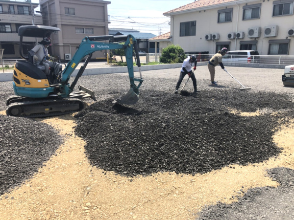 近藤建築・Kホーム 岐阜市 造成工事 イメージ
